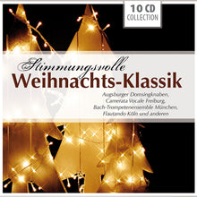 Load image into Gallery viewer, WEIHNACHTS-KLASSIC (Beautiful Christmas Classics) -  (10 CDs)