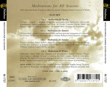 Load image into Gallery viewer, Meditations for All Seasons (4 CDs)