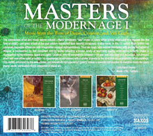 Load image into Gallery viewer, MASTERS OF THE MODERN AGE 1: MUSIC FROM THE TIME OF DEGAS, CEZANNE AND VAN GOGH (3 CDS)