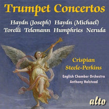 Load image into Gallery viewer, SIX TRUMPET CONCERTOS - CRISPIAN STEELE-PERKINS, ENGLISH CHAMBER ORCHESTRA