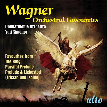 WAGNER: ORCHESTRAL FAVORITES FROM THE OPERAS - PHILHARMONIA ORCHESTRA, SIMONOV