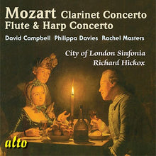 Load image into Gallery viewer, MOZART: CONCERTOS FOR CLARINET & FLUTE & HARP - HICKOX, SINFONIA OF LONDON