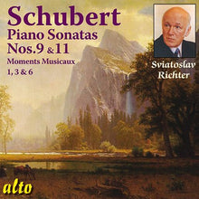 Load image into Gallery viewer, SCHUBERT: PIANO SONATAS 9 & 11: MOMENTS MUSICAUX - RICHTER