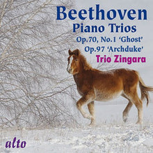 Load image into Gallery viewer, BEETHOVEN: PIANO TRIOS OP 71/1 (GHOST) & OP 97 (ARCHDUKE) - TRIO ZINGARA