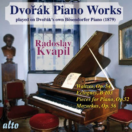 DVORAK: PIANO WORKS PLAYED ON DVORAK'S OWN PIANO, VOLUME 2