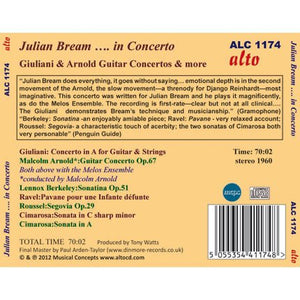 JULIAN BREAM...IN CONCERTO