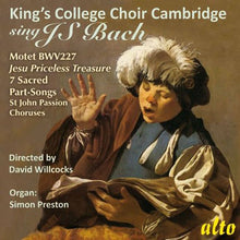Load image into Gallery viewer, KING'S COLLEGE CHOIR SINGS J.S. BACH - WILLCOCKS