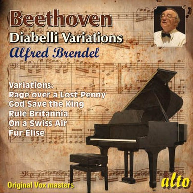 BEETHOVEN: DIABELLI AND OTHER VARIATIONS - ALFRED BRENDEL