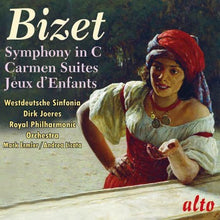 Load image into Gallery viewer, BIZET: SYMPHONY IN C; CARMEN SUITES 1 & 2 - ROYAL PHILHARMONIC, WESTDEUTSCHE SINFONIA
