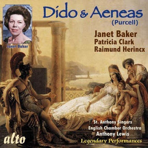 PURCELL: DIDO & AENEAS (PLUS BONUS ARIAS) - JANET BAKER, ENGLISH CHAMBER ORCHESTRA