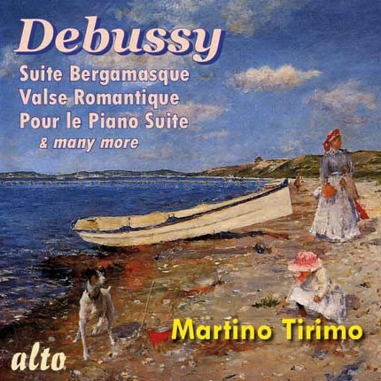 DEBUSSY: PIANO SUITES - MARTINO TIRIMO
