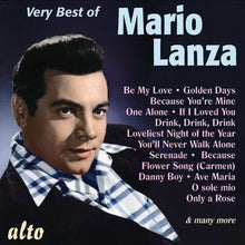 Load image into Gallery viewer, THE VERY BEST OF MARIO LANZA