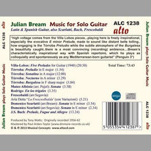 Load image into Gallery viewer, CLASSICS FOR SOLO GUITAR - JULIAN BREAM