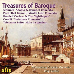 TREASURES OF THE BAROQUE - WURTTEMBURG ORCHESTRA, JORG FAERBER