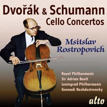 Load image into Gallery viewer, DVORAK & SCHUMANN: CELLO CONCERTOS - ROSTROPOVICH