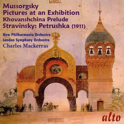 MUSSORGSKY: PICTURES AT AN EXHIBITION; STRAVINSKY: PETRUSHKA - MACKERRAS