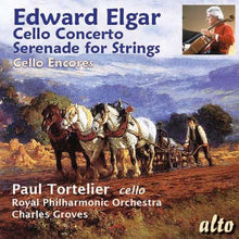 Load image into Gallery viewer, ELGAR: CELLO CONCERTO; SERENADE FOR STRINGS - TORTELIER, GROVES, ROYAL PHILHARMONIC