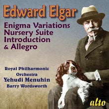 Load image into Gallery viewer, ELGAR: ENIGMA VARIATIONS, NURSERY SUITE; INTRODUCTION AND ALLEGRO - ROYAL PHILHARMONIC