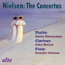 Load image into Gallery viewer, NIELSEN: COMPLETE CONCERTOS (VIOLIN, CLARINET, FLUTE)
