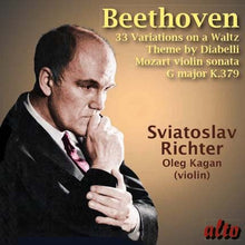 Load image into Gallery viewer, BEETHOVEN: DIABELLI VARIATIONS OP. 120; MOZART: VIOLIN SONATA IN G, K. 379 - RICHTER