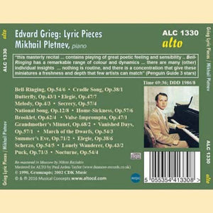 GRIEG: LYRIC PIECES - PLETNEV