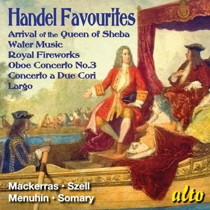 HANDEL: FAVORITES - SZELL, MACKERRAS, LONDON SYMPHONY, PRO ARTE ORCHESTRA