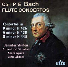 Load image into Gallery viewer, BACH, C.P.E.: FLUTE CONCERTOS - STINTON, ORCHESTRA OF ST. JOHN'S
