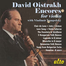 Load image into Gallery viewer, DAVID OISTRAKH: ENCORES