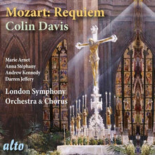Load image into Gallery viewer, MOZART: REQUIEM MASS, K.626 - DAVIS, LONDON SYMPHONY ORCHESTRA