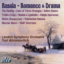 Load image into Gallery viewer, RUSSIA: ROMANCE & DRAMA - AHRONOVITCH, LONDON SYMPHONY ORCHESTRA