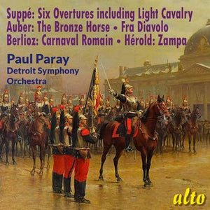 VON SUPPE & FAVOURITE FRENCH OVERTURES - PARAY, DETROIT SYMPHONY