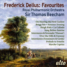 Load image into Gallery viewer, DELIUS: 11 FAVOURITES - BEECHAM, ROYAL PHILHARMONIC