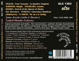 VIVALDI: THE FOUR SEASONS & BAROQUE FAVORITES - LAREDO, SCOTTISH CHAMBER ORCHESTRA