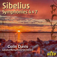 Load image into Gallery viewer, SIBELIUS: SYMPHONIES NOS. 4 & 7 - COLIN DAVIS, LONDON SYMPHONY