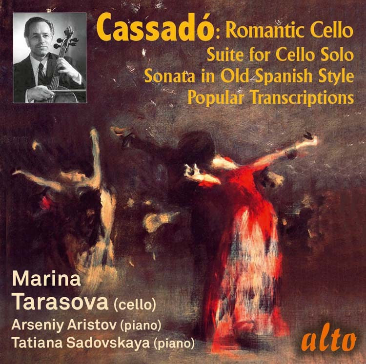 CASSADO: ROMANTIC CELLO MUSIC - TARASOVA