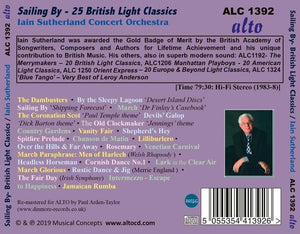 SAILING BY: 25 BRITISH LIGHT CLASSICS - IAIN SUTHERLAND CONCERT ORCHESTRA
