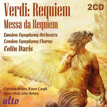 Load image into Gallery viewer, VERDI: REQUIEM MASS - COLIN DAVIS, LONDON SYMPHONY & CHORUS (2 CDS)