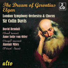 Load image into Gallery viewer, ELGAR: THE DREAM OF GERONTIUS, OP. 38 - COLIN DAVIS, LONDON SYMPHONY ORCHESTRA (2 CDS)