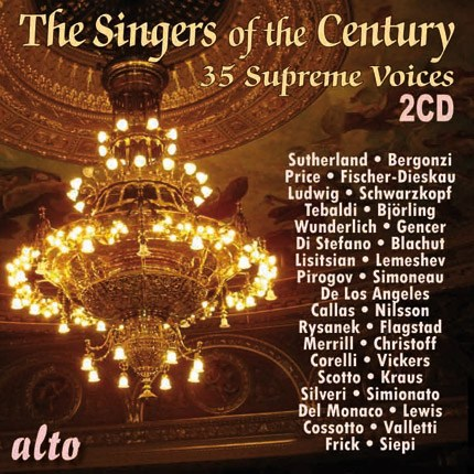 THE SINGERS OF THE CENTURY: 35 SUPREME VOICES IN THEIR PRIME (2 CDS)