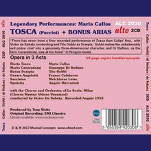 Load image into Gallery viewer, PUCCINI: TOSCA PLUS CALLAS SINGS PUCCINI (2 CDS)