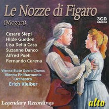Load image into Gallery viewer, MOZART: LE NOZZE DI FIGARO - ERICH KLEIBER (3 CDS)