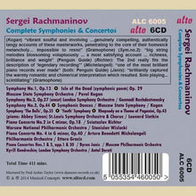 Load image into Gallery viewer, RACHMANINOV: COMPLETE SYMPHONIES & CONCERTOS (6 CDS)