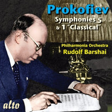 Load image into Gallery viewer, PROKOFIEV: SYMPHONIES 5 & 1 - BARSHAI, PHILHARMONIA ORCHESTRA