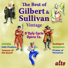 Load image into Gallery viewer, VERY BEST OF VINTAGE GILBERT & SULLIVAN
