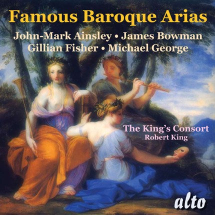 FAVOURITE BAROQUE ARIAS - KING'S CONSORT