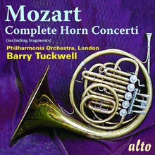 Load image into Gallery viewer, MOZART: COMPLETE HORN CONCERTI & FRAGMENTS