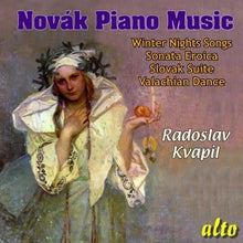 Load image into Gallery viewer, NOVAK: PIANO MUSIC - KVAPIL