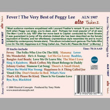 Load image into Gallery viewer, FEVER: THE VERY BEST OF PEGGY LEE