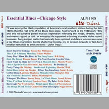 Load image into Gallery viewer, ESSENTIAL BLUES: CHICAGO STYLE