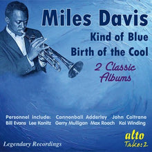 Load image into Gallery viewer, MILES DAVIS: KIND OF BLUE & BIRTH OF THE COOL